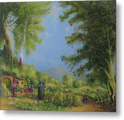 Evening In The Shire. Metal Print by Joe  Gilronan
