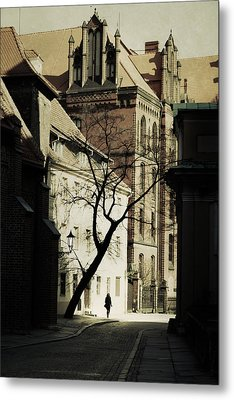 Evening In Wroclaw Metal Print by Cambion Art