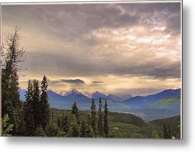 Evening In Yoho Metal Print