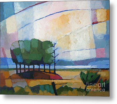 Evening Landscape Metal Print