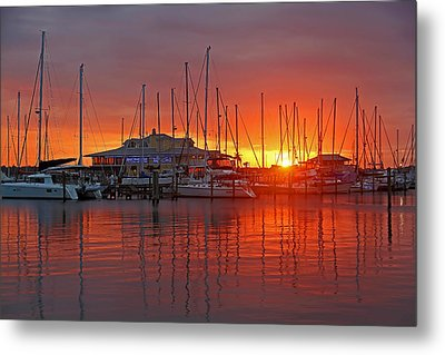 Evening Light Metal Print by HH Photography of Florida