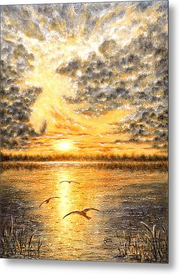 Evening Of The 5th Day Metal Print