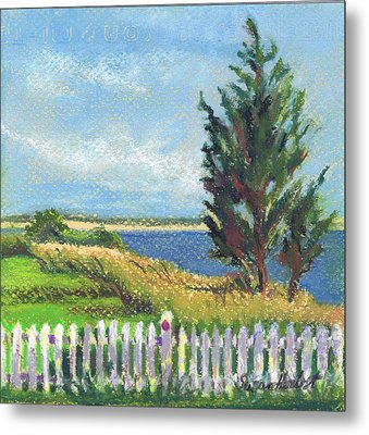 Evening Orient And Peconic Bay Metal Print