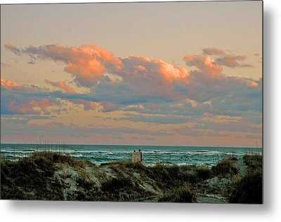 Evening Pastel Metal Print by Allen Carroll