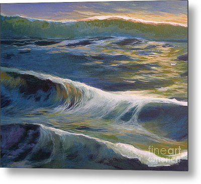 Evening Reflection Metal Print by Melody Cleary
