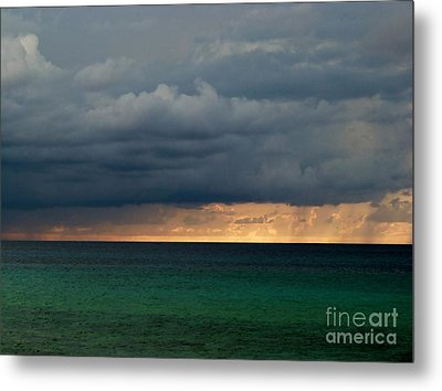 Evening Shadows Metal Print
