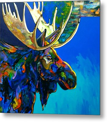 Metal Print featuring the painting Evening Shadows by Bob Coonts