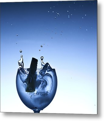 Evening Splash Metal Print by Michael Murphy