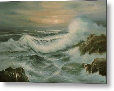 Evening Tide Metal Print