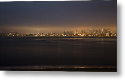 Evening View Metal Print by Akos Kozari