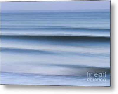 Evening Waves Metal Print by Katherine Gendreau