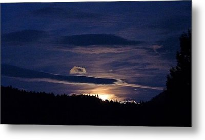 Metal Print featuring the photograph Event Rising by Julia Hassett