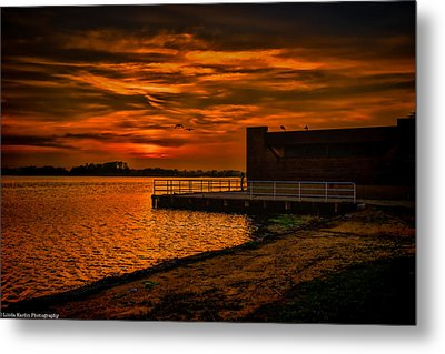 Metal Print featuring the photograph Ever Peacful by Linda Karlin