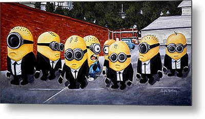 Every Minion Has His Day Metal Print by Al  Molina