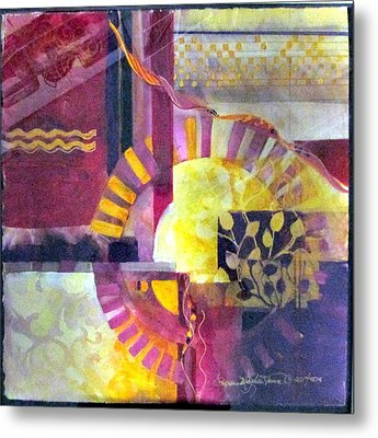 Every Piece Of Art Has The Character Of The Artist Metal Print by Patricia Mayhew Hamm