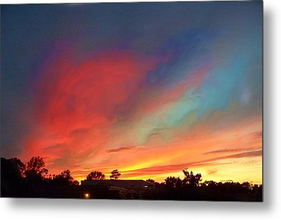 Every Sunset Is A Gift Metal Print by Rick Todaro
