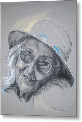 Everybodys Grandma Metal Print