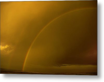 Everyone Needs A Rainbow Metal Print by Jeff Swan