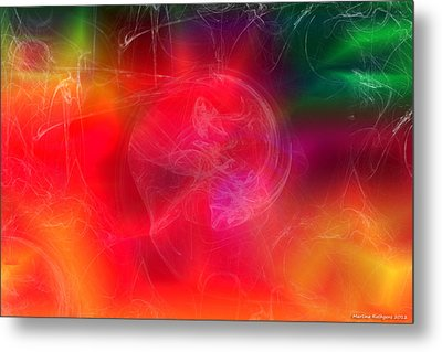 Metal Print featuring the digital art Everything Is Energy by Martina  Rathgens