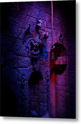 Evil Queen Dungeon Metal Print by Timothy Ramos