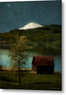 Excellence And Peace Metal Print by RC DeWinter