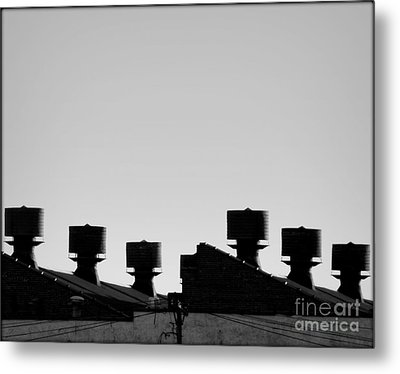 Exhausted Metal Print by James Aiken