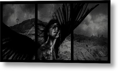 Exile Metal Print by Cambion Art