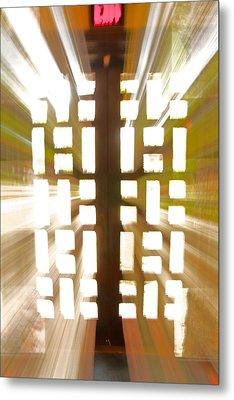 Exit Doors Metal Print by Stuart Litoff