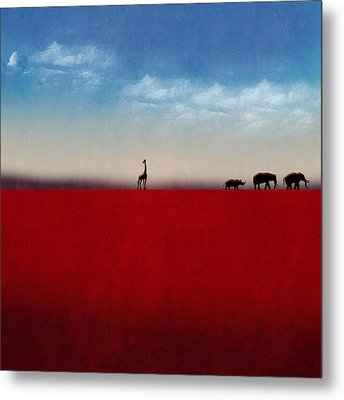 Metal Print featuring the digital art Exodus by Andy Walsh