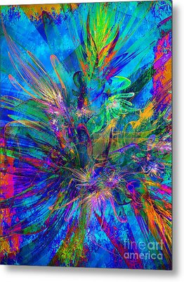 Exotic Dream Flower Metal Print