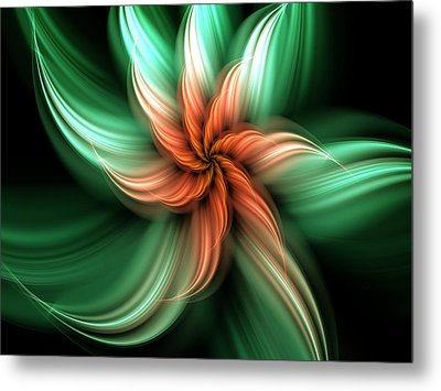 Exotic Flower Metal Print by Svetlana Nikolova