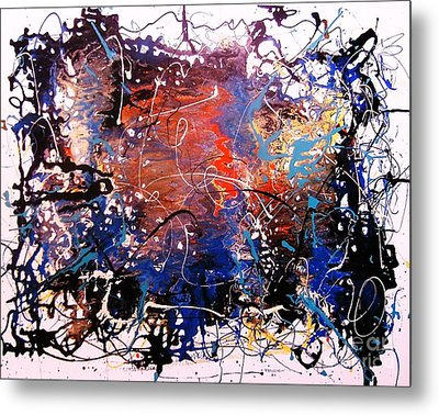 Exotic Zone Metal Print by Roberto Prusso