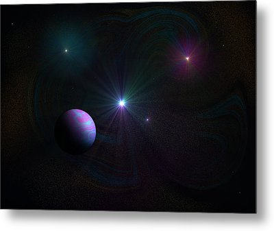 Expanding Universe Metal Print by Ricky Haug