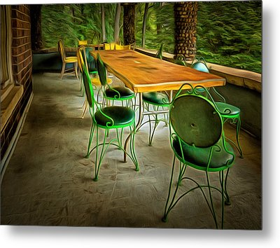 Expecting Good Times Metal Print by MJ Olsen