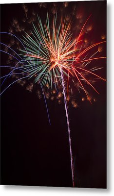 Exploding Colors Metal Print by Garry Gay