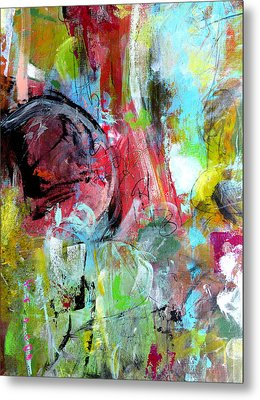 Metal Print featuring the painting Exploration by Katie Black
