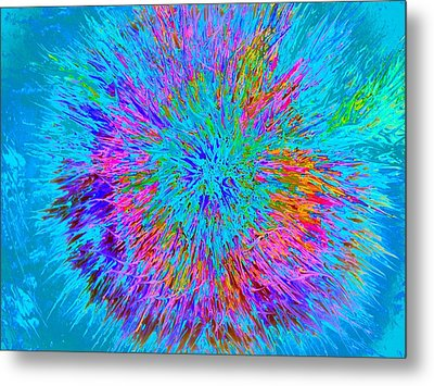 Explosion 5 Metal Print by Nico Bielow