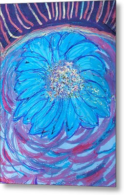 Explosion Of Color Metal Print by Anne-Elizabeth Whiteway