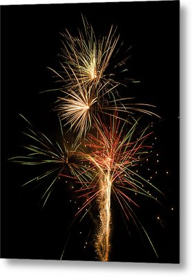 Explosion Metal Print by Shirley Tinkham