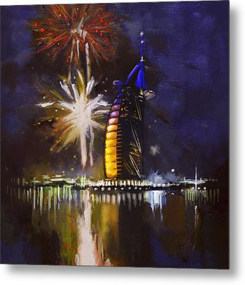 Expo Celebrations Metal Print by Corporate Art Task Force