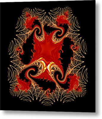 Exponential Metal Print by Fran Riley