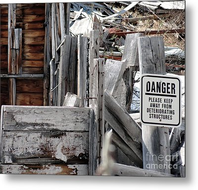 Exposed Metal Print by Dani Abbott