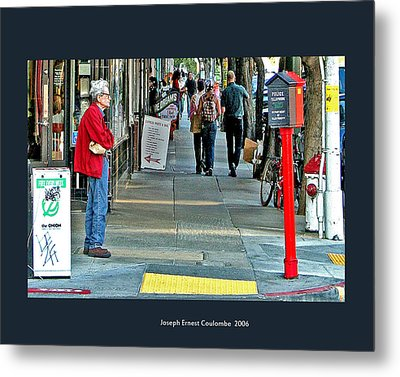 Express Photos Metal Print by Joseph Coulombe