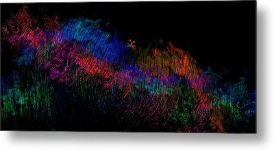 Expressions Of Color Metal Print by Christopher Gaston