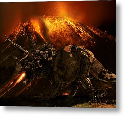 Extinction    The Second Coming Metal Print