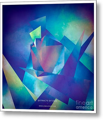Extracts Of Ego Metal Print by Lonnie Christopher
