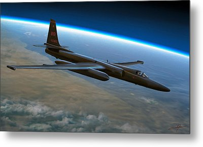 Extreme Altitude Metal Print by Dale Jackson
