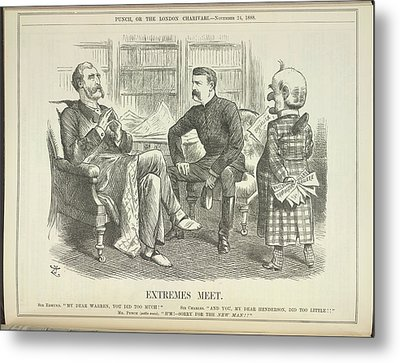 Extremes Meet Metal Print by British Library