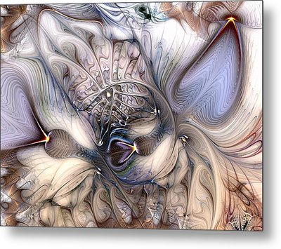 Metal Print featuring the digital art Extrinsic To Everything by Casey Kotas