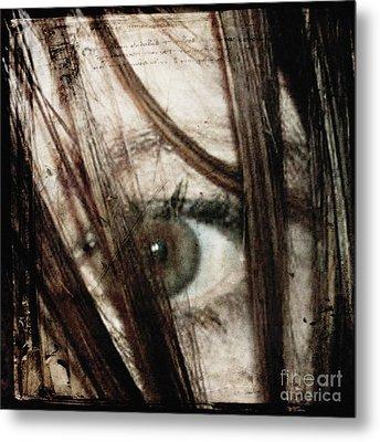 Eye-dentify Metal Print by Sharon Coty
